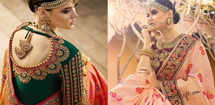 Top Bridal Sarees for the New - age Bride!