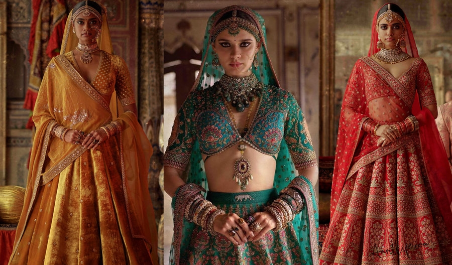 Sabyasachi's Beautiful New Winter Bridal Collection 2019-Charbagh!