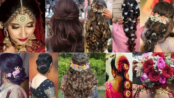 Latest Best Bridal Hairstyles For Marriage in 2020
