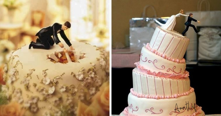 Funny Wedding Cake Ideas that will Leave Everyone Laughing Hard!